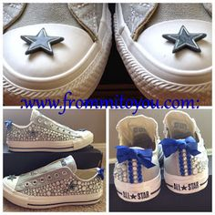 2521d9fa48b8 Shoe Gallery by From Mi To You For the Dallas Cowboy fan in your life.