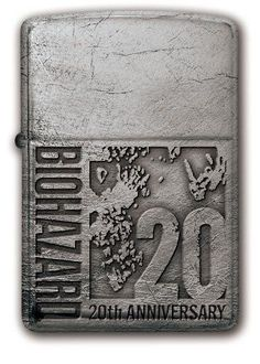 BIOHAZARD 20th Anniversary Zippo Silver  model From Japan NEW Resident Evil | Collectibles, Science Fiction & Horror, Resident Evil | eBay!