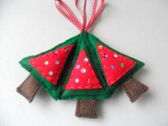 Christmas tree hanging decorations  £6.00