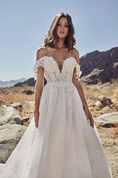 b4ce9d960d88 Calla Blanche Spring 2019 Wedding Dresses calla blanche spring 2019 bridal  off the shoulder deep sweetheart neckline heavily embellished bodice  romantic ...