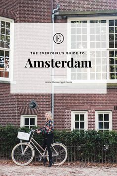 Forget what you think you know about Amsterdam. The city is charming, trendy, and wonderfully fashion-forward. Visit around summertime and