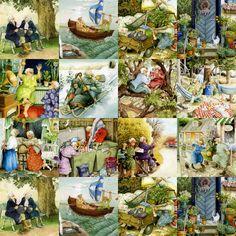inge+look | ... la claire fontaine: Cartes postales de l'artiste finlandaise Inge Look
