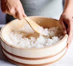 El arroz es el secreto de un buen sushi