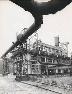 Stabilimento di Bovisa. Impianto UGI per la produzione di gas da cracking catalitico di prodotti petroliferi - 1968