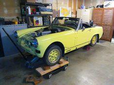 "Jeff's 1976 MG Midget 1500 ""SpeedBump"" - AutoShrine Registry"