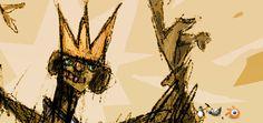 Ilustrador Gustavo Deveze Open Source, Scribble, Artists, Illustrator