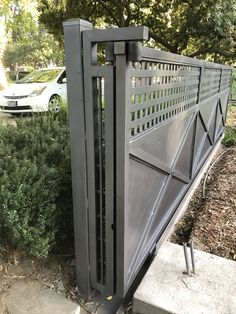 How to Build A Wood Fence. How to Build A Wood Fence. Build A Wooden Fence and Gate 14 Steps with House Fence Design, Fence Gate Design, Modern Fence Design, Steel Gate Design, Privacy Fence Designs, Metal Design, Front Gate Design, Main Gate Design, Fence Art