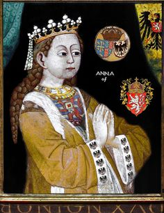 Anne of Bohemia, Queen of England by the lost gallery, via Flickr