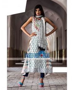 Essencia Embroidered Lawn Collection 2015