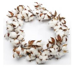 i love southern homes COTTON WREATH....a must have