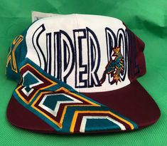 eef6fb03f Vintage Super Bowl XXX Snapback Hat 1995 NFL Collectable New Tags