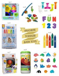A guide to the very best bath toys for toddlers Toddler Fun, Toddler Toys, Baby Toys, Baby Baby, Best Bath Toys, Best Kids Toys, Bath Toys For Toddlers, Toys For Girls, Kids Bath