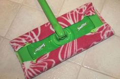 Step by Step Tutorial: How to Make Reusable Swiffer Cloths | The Happy Housewife