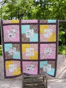 Quilt for my niece