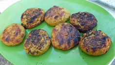 Falafel Burgers at Surviving the Food Allergy Apocalypse