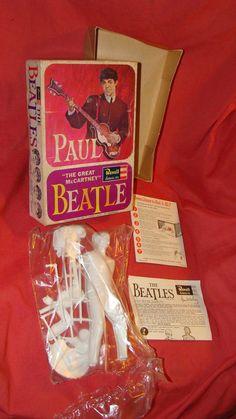 BEATLES Paul McCartney 1964 Revell model kit
