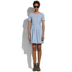 Madewell Floral Songbird Dress $138 The Songbird Dress is amazing, in every fabric offered.  I love this chambray floral!