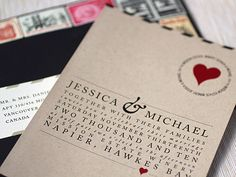 custom letterpress stationery design from ruby and willow | Oh So Beautiful Paper