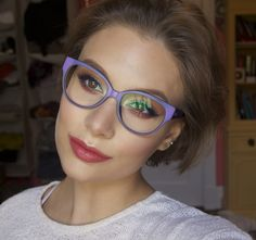Complimentary Colors : Makeup For Glasses