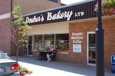 Dooher's Bakery in Campbellford, ON - beat the rush by getting there early on Saturday mornings during the tourism season!