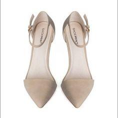 3dd5c17fa Lorri by shoe mint beige pointed heel