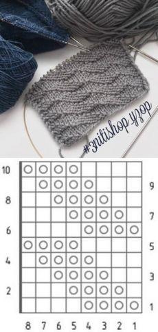 Beginner Knitting Patterns, Knitting Charts, Baby Knitting Patterns, Lace Knitting, Knitting Designs, Sewing Patterns, Crochet Patterns, Crochet Stitches, Knitted Blankets