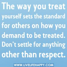 respect | he that respects himself is safe from others