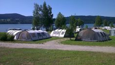 The Camping Lipno Modrin is situated right on the bank of Lake Lipno, the centre of an area of great natural beauty, enjoying a typical mountain climate and offering excellent conditions for summer holidays