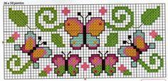 123 Cross Stitch, Cross Stitch Letters, Cross Stitch Boards, Simple Cross Stitch, Cross Stitch Animals, Cross Stitch Designs, Stitch Patterns, Pony Bead Patterns, Beading Patterns