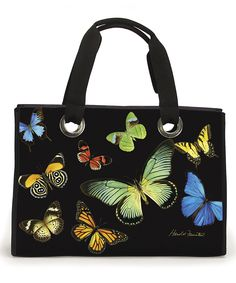 Another great find on #zulily! Spring Mix Butterfly Tote by Passion for Fashion #zulilyfinds