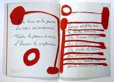 Joan Miro for Vogue Paris