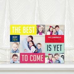 The Best Yet - New Years Cards - Petite Alma - Bright Red