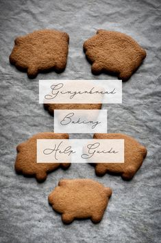 Have you had challenges making classic smooth and tender gingerbread cookies? The cookies did not come out as wanted but you're not sure where… Gingerbread Dough, Gingerbread Cookies, Best Christmas Cookies, Christmas Treats, Xmas Recipes, Cookie Recipes, Ginger Bread Cookies Recipe, Vintage Cooking, Xmas Food