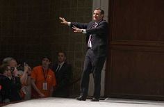 How the hell can Ted Cruz support Texas flood relief after telling Hurricane Sandy victims to rot?  U.S. Republican presidential candidate Senator Ted Cruz (R-TX) waves to the crowd after speaking during the Freedom Summit in Greenville, South Carolina May 9, 2015. REUTERS/Chris Keane - RTX1C9RH