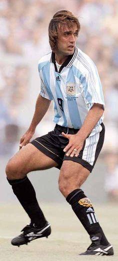 Gabriel Batistuta aka my favourite player when I was a child