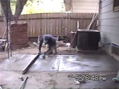 How To Stamp Concrete | Concrete Stamps | Patios | Outdoor Decor |  Pinterest | Stamped Concrete, Concrete And Concrete Floor