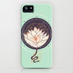 Lotus iPhone & iPod Case by Hector Mansilla - $35.00