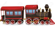 Find Old Steam Train Red Brown Vector stock images in HD and millions of other royalty-free stock photos, illustrations and vectors in the Shutterstock collection. Train Cartoon, Halloween Train, Train Vector, Boy Toddler Bedroom, Old Steam Train, Banner Printing, Illustrations, Decorative Tile, Painting Patterns