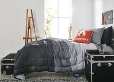 Team no sleep, but really want to be team sleep? Swipe right on OCM bedding for what we think might be the best snooze of your life. 😴🙃🔥  👀Preston Pak  #bedroom #designgoals #ocmcollegelife #dormgoals #dormdecor #mattresstoppers #bedding #campusliving #findyourstyle #dorm #dormlife #student #universityapproved