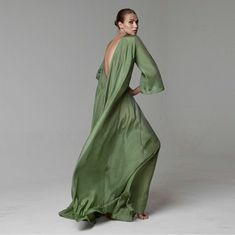 Kalita #kalita #dress #green #elegant #fashion #IZ