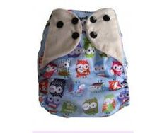 Dotty Bots Mixers - One size Pocket Nappy, Bamboo Boosters, Poppers, It's a Hoot Blue Mixers, Owls, Your Favorite, Bamboo, Parenting, Pocket, Blue, Childcare, Raising Kids