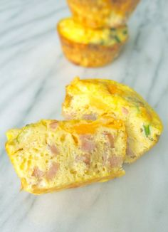 Ham and Cheese Baked Egg Cups
