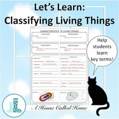 Help students organize key terms!When teaching my middle school ...