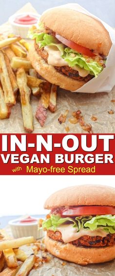 One bite of this Copycat In-N-Out Vegan Burger with Spread will have anyone questioning its authenticity. The mayo-free spread paired with grilled onions even had me fooled. So beat that chemical burger craving with this healthier, cruelty-free option. #vegan #veganinnout #veganburger #blackbeanburger #veganrecipes #veganburgerrecipe #veggieburgerrecipe #veganinnout