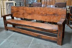 Rustikale Bank im Freien rustic bench outdoor happy chair and more happy chairs Bank engraved sunflo