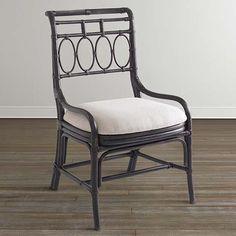 Oval Fret Side Chair