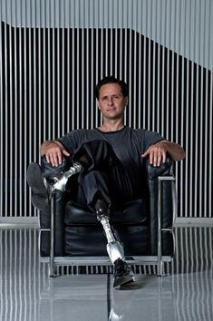 Nearly 30 years ago, Hugh Herr lost both of his legs in a climbing accident at age 17. Today, he runs the Biomechatronics group at the MIT Media Lab and designs better prosthetic limbs for other amputees.