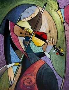 View La violoniste by Vyacheslav Koretsky on artnet. Browse upcoming and past auction lots by Vyacheslav Koretsky. Cubist Art, Abstract Face Art, Music Painting, Music Artwork, Oil Pastel Art, Small Canvas Art, Modern Art Paintings, Cubist Paintings, Figurative Art