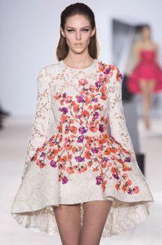 The dress on the Giambattista Valli Haute Couture autumn winter 2014 runway.jpg