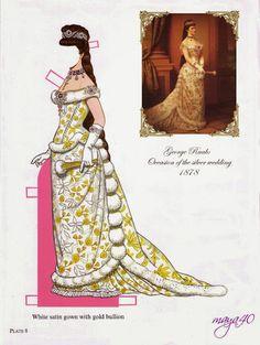 Empress Elisabeth and emperor Franz joseph paper dolls - Onofer-Köteles Zsuzsánna - Picasa Web Albums